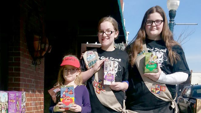 Local GIrl Scouts are taking Cookie Sale pre-orders in January.