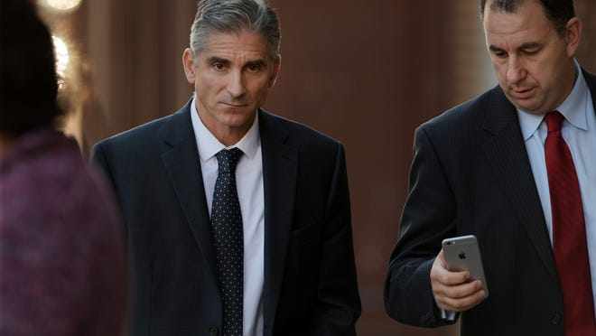 James M. Merrill, left, pleaded guilty in the TelexFree pyramid scheme in 2016.