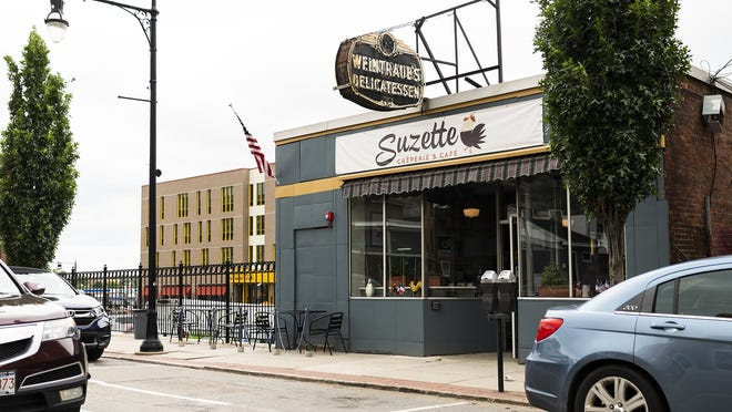 Suzette Creperie & Cafe opened Saturday in the former Weintraub's Deli on Water Street.