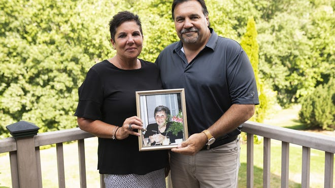 Mary Lynn Jankowski and Joe Padavano lost their mother, Carolyn Padavano, to COVID-19 in May.
