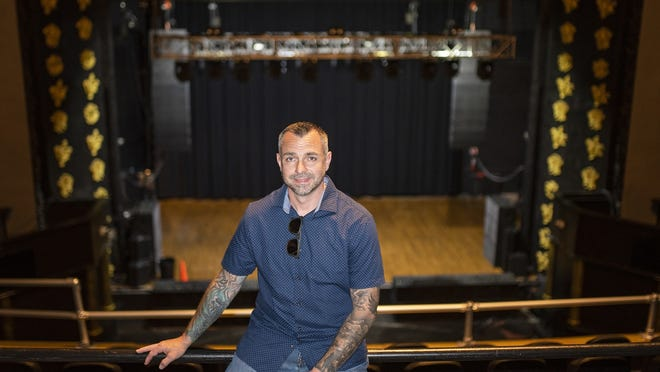 WORCESTER - Chris Besaw, general manager at the Worcester Palladium.