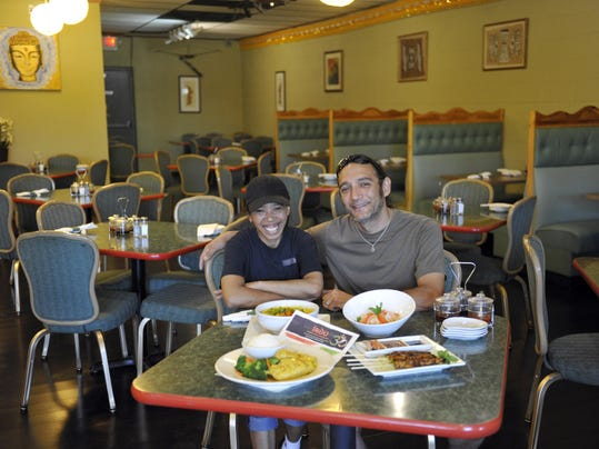 August 6th, 2015 The Indo Indonesian Restaurant at 1535 Cass Lake Road in Keego Harbor Review. Chef Melik Alonzo and her husband Nik are the owners .Photo by Charles V. Tines, The Detroit News.