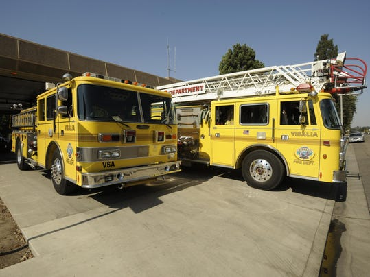 visalia fire trucks