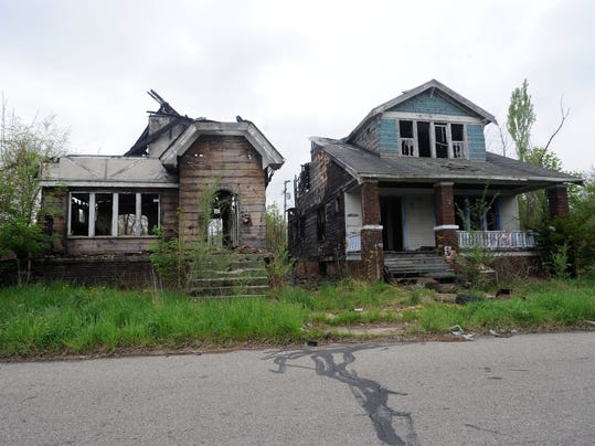 Census bureau detroit is poorest big city in u s for 3 4 houses in michigan