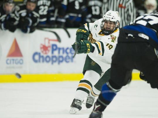 Bentley vs. Vermont Men's Hockey 12/31/16
