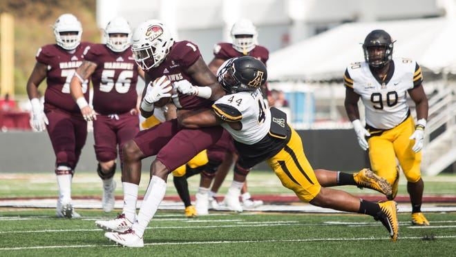ULM handed Appalachian State, the defending Sun Belt co-champion, its first conference loss of the season.