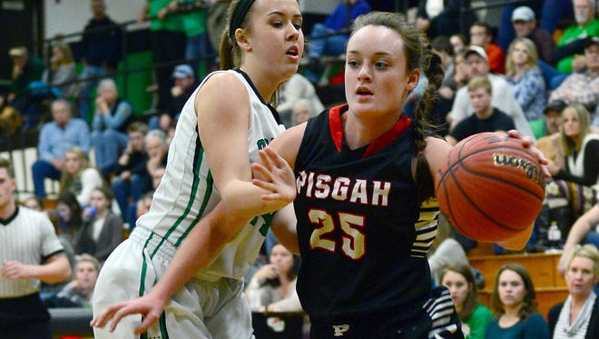 Pisgah senior Maddie Webb has committed to play college basketball for Mars Hill.