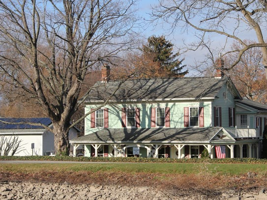 The Adams Basin Inn Bed and Breakfast, which overlooks the Erie Canal in Ogden, is an example of the waterside accommodations that one Reimagine the Canals proposal would encourage.