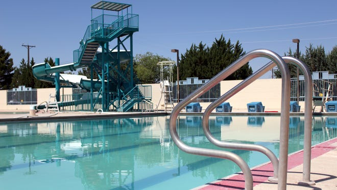 The Sam Baca Aquatic Center will open to the public on Monday, providing various levels of fun in the water including aerobics, a 150-foot slide and open swim sessions.