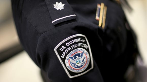 A U.S. Customs and Border Protection officer at Miami