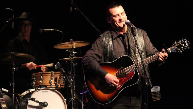Doug Benson and his Johnny Cash tribute band Cash'd Out perform Tuesday, Jan. 24 at the Animas City Theatre in Durango, Colo.