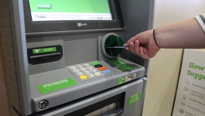 Card skimmers hidden inside or outside of a payment device can steal data from the magnetic strip of your credit or debit card.