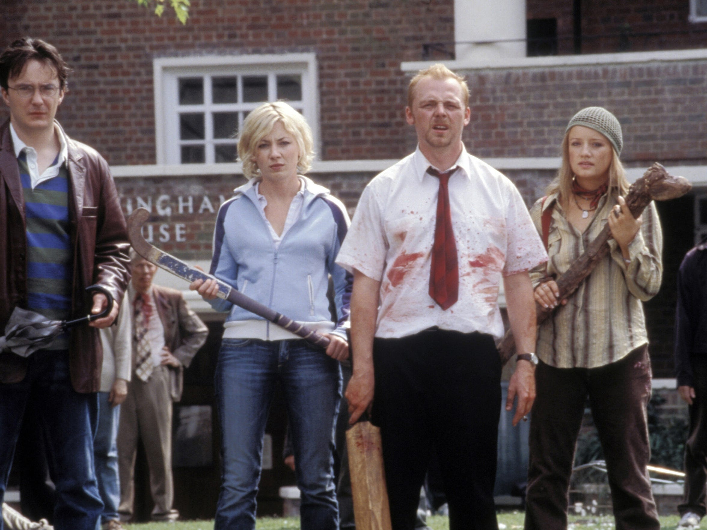 Shaun of the Dead, 2004. Directed by Edgar Wright ©