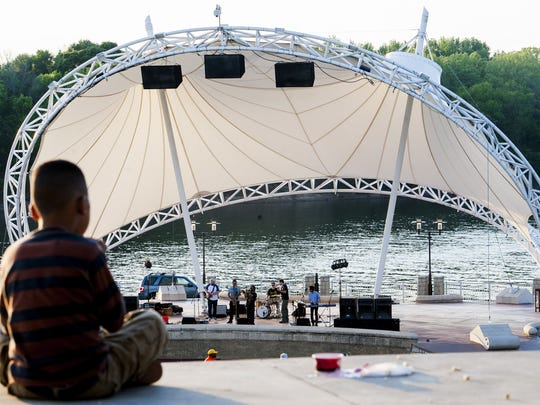 Come out for a picnic, music and fireworks at Riverfront
