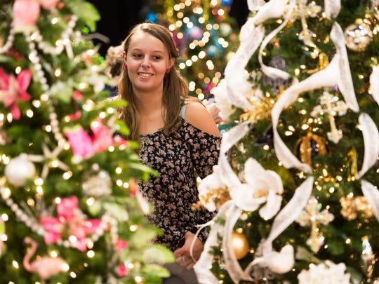 Every year, people are enchanted by the decorated trees at Riverside Theatre's Festival of Trees.