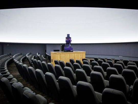 Ball State's new planetarium attached to the Cooper