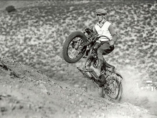 Hillclimbing was an early tradition of motorcycle culture