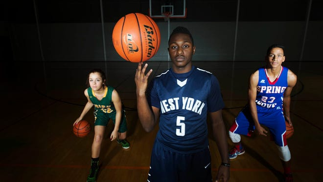 York Catholic's Kate Bauhof, West York's Josh Bailey and Spring Grove's Eli Brooks are all prime examples of the top-level guard play on display in the YAIAA.