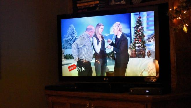 Greta Perske appears Tuesday on the Ellen DeGeneres Show.