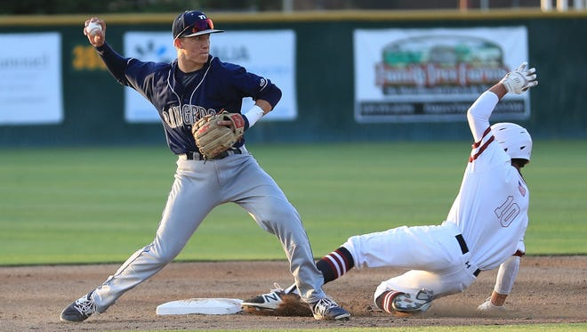 Redwood's Hunter Bryan was named by West Yosemite League coaches as the conference's player of the year for the 2017 season.