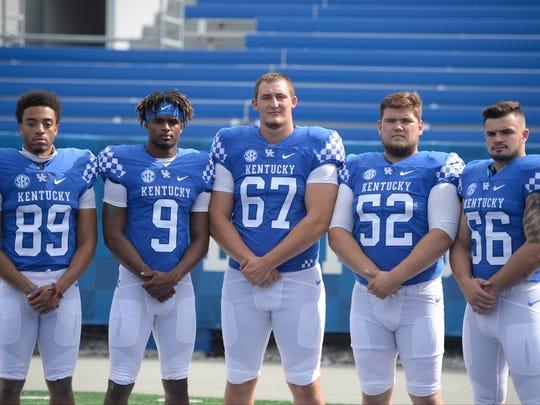 Freshmen and Kentucky natives Zy'Aire Hughes, Davonte