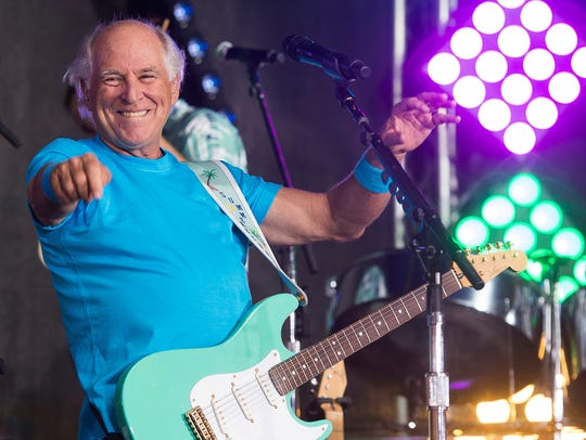 Jimmy Buffett and his Coral Reefer Band will return to Nashville's Bridgestone Arena on April 27.
