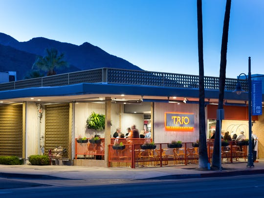 Trio Restaurant in Palm Springs.