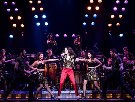 """A scene from the Gloria Estefan musical """"On Your Feet!"""""""