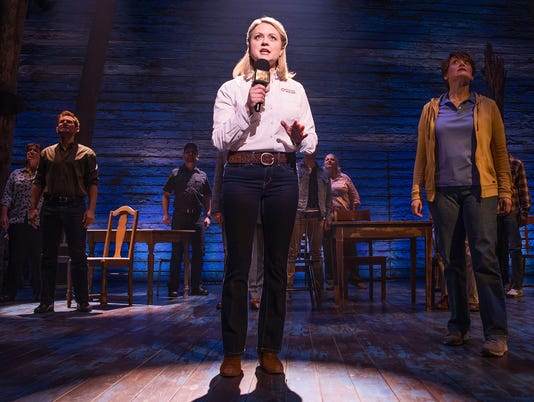 "Kendra Kassebaum in ""Come From Away"""