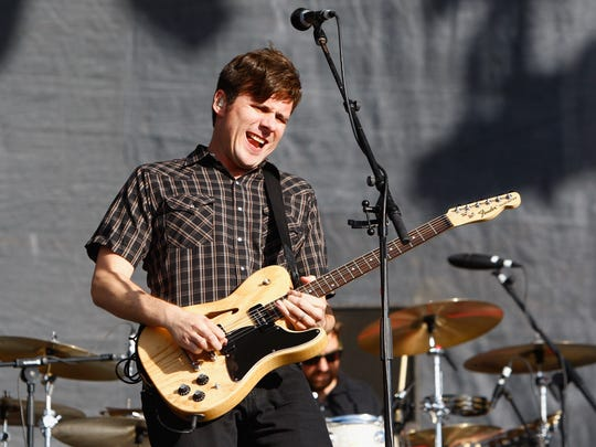 Jim Adkins will perform with Jimmy Eat World Dec. 1 at Old National Centre.