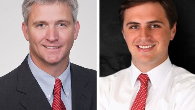 Transportation Commissioner Mike Tagert, left, and Boyce Adams are expected to enter congressional race.