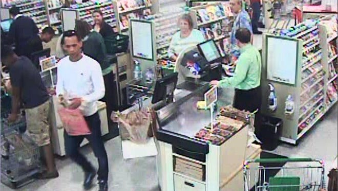 Surveillance video at a Publix captured images of two credit card fraud suspects back in January.