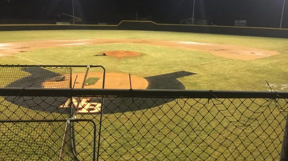 North Buncombe baseball played its first-ever night