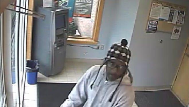 Lexington Avenue bank robbery suspect.