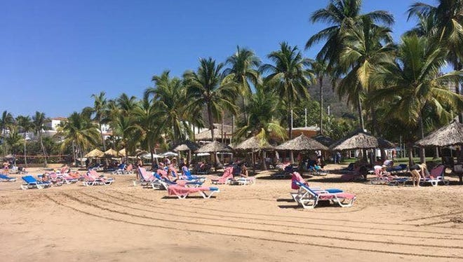 Sober Vacations International, a Los Angeles-based company, organizes alcohol-free trips all over the world, including this one in Ixtapa, Mexico.