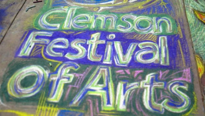 Festival of Arts in Clemson will be this Saturday at Jaycee Park.