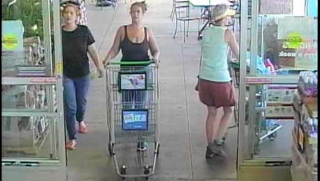 West Manchester Township Police are seeking the identity of these two women, suspected of attempting to take alcohol from the Giant on Carlisle Road.