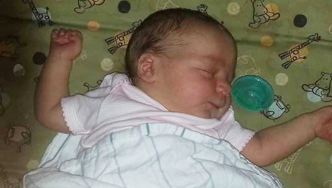 Two-month-old Ruth Ringer died Aug. 21, 2017, of malnutrition and dehydration, according to the Marion County coroner's office.