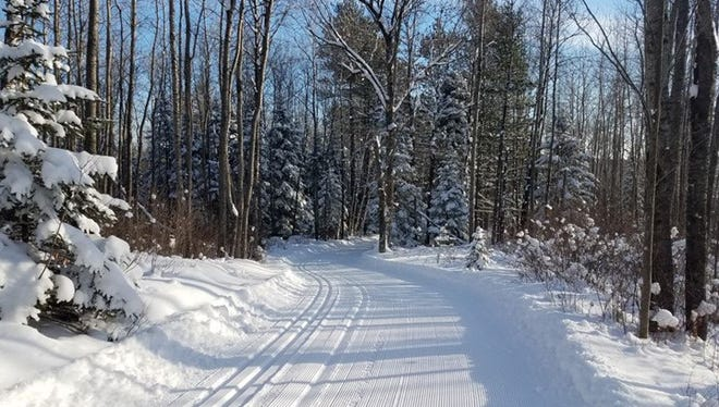 Ski trails are in very good condition at the Brule River State Forest after the area received an additional foot of snow this week.