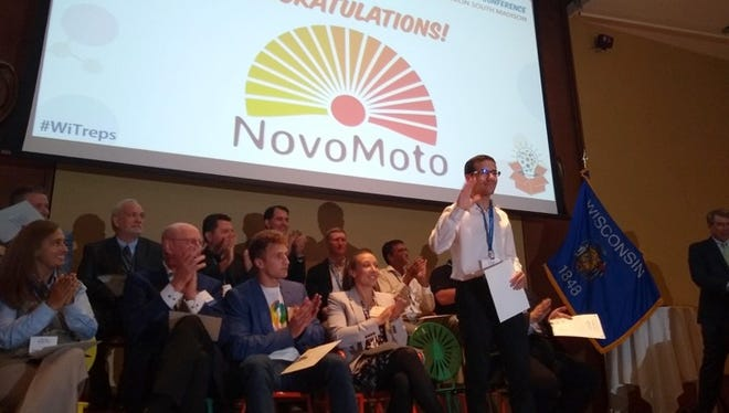 NovoMoto beat out 11 other finalists in winning the 2018 Governor's Business Plan Contest. Over 200 companies initially applied to compete.