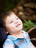 Jayden is a loving, fun little boy who is happy to share a smile.
