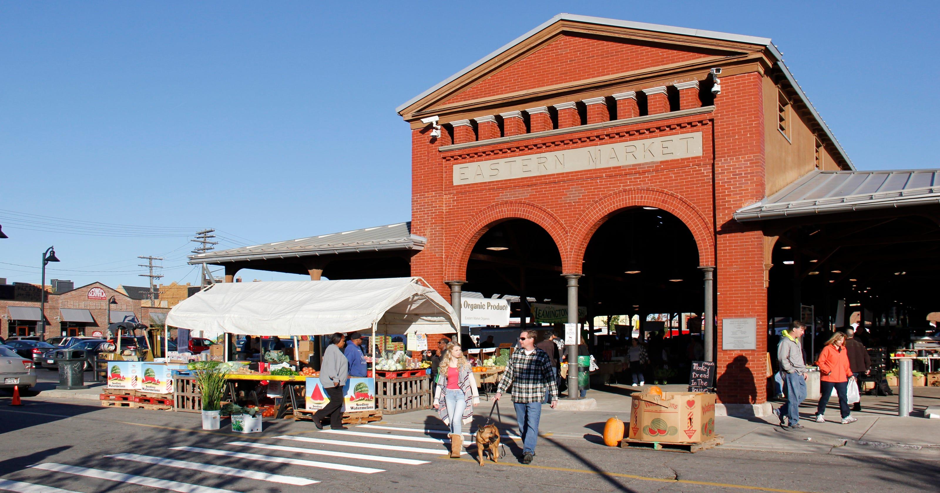Tour Detroit's historic Eastern Market