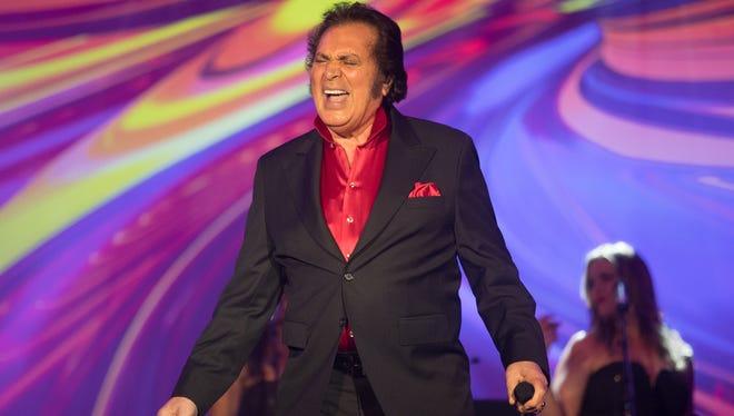 Legendary crooner Engelbert Humperdinck plays the Gold Strike Casino on Friday.
