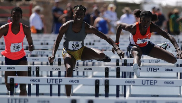 UTEP track and field standout Tobi Amusan was honored