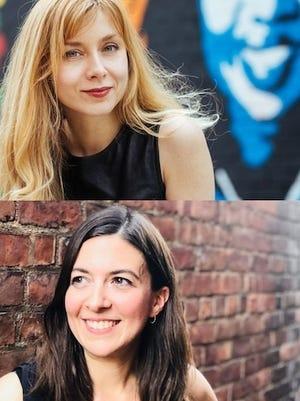 Narrows Center for the Arts Live Stream: Danielle Miraglia, top and Lisa Bastoni Friday, Aug. 21 at 8 p.m.