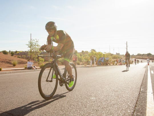Athletes from around the world compete in the St. George