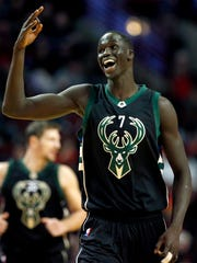 Thon Maker was the 10th overall pick in the 2016 NBA draft.