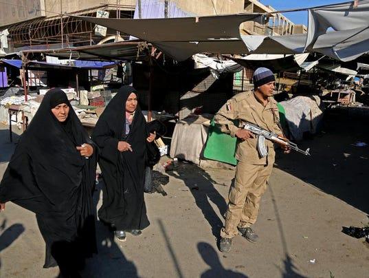 Mideast Iraq Christmas