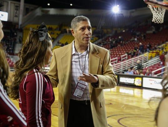 NMSU Athletic Director Mario Moccia