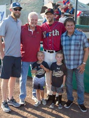 The Duncan family, along with former MLB manager Tony